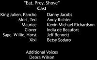 Eat Prey Shove Voice Cast