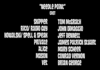 Needle Point Cast
