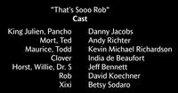 That's Sooo Rob Voice Cast