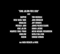 King Julien for a Day-cast
