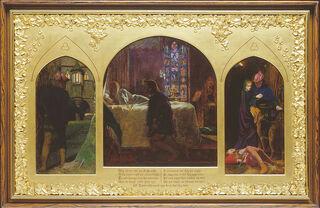 Arthur Hughes - The Eve of St Agnes - Google Art Project