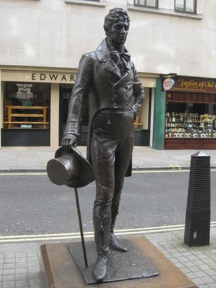Beau Brummell Statue Jermyn Street
