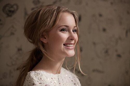 Zara Larsson gorgeous smile