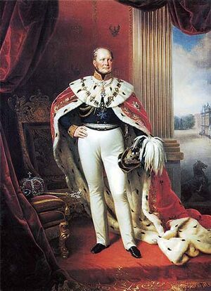 Frederick William IV of Prussia portrait