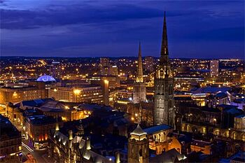 A-birds-eye-view-of-coventry-england-home-to-the-cathedral-and-parishioners-who-donated-money-to-help-rebuild-frauenkirche-in-dresden-germanyvisit-coventrycom