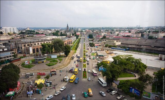 File:Lviv-view-from-central-railway-station.jpg