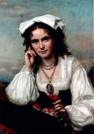 Vinnie Ream by George Peter Alexander Healy, 1870