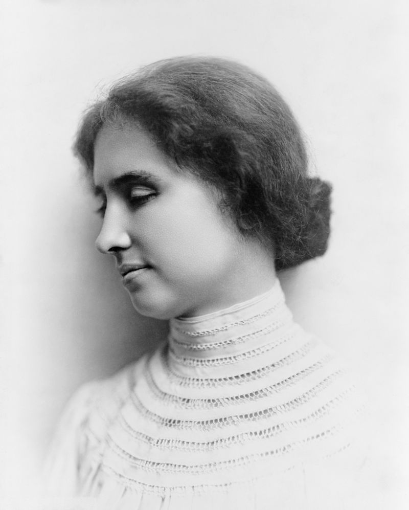 Helen Keller | People Don't Have to Be Anything Else Wiki | Fandom ...