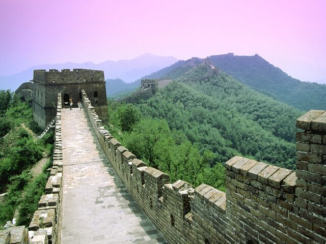 File:Great Wall outside Beijing.jpg