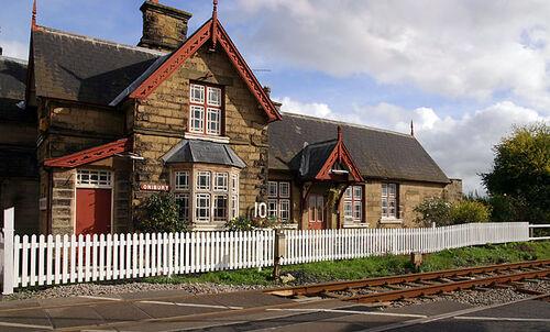 Onibury Station