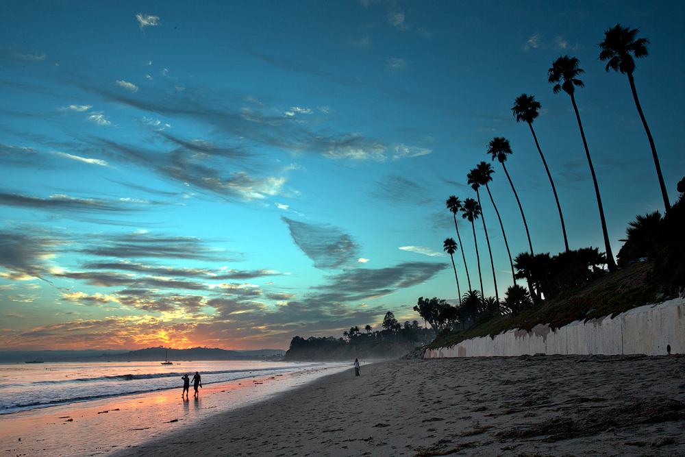 Butterfly Beach Santa Barbara Ca