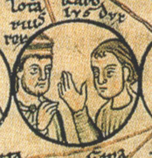 Charles and his brother, Lothair of France