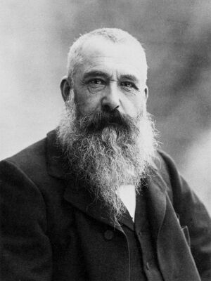 Claude Monet by Nadar