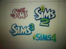 The Sims 1 The Sims 2 The Sims 3 The Sims 4