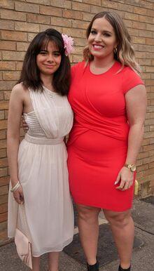 Emelie and Sophia at School