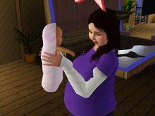 Sophia Ranjan And Baby-2