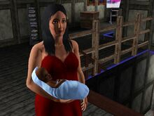 Bella Goth And Baby-1481448662