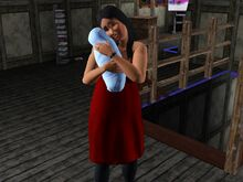 Bella Goth And Baby-2