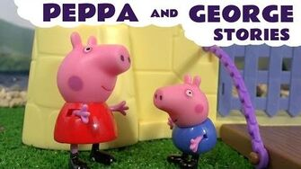Peppa Pig English Episodes with George and Thomas and Friends Also Play Doh and Funny Minions