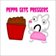 Peppa Gets Preggers 7 Logo