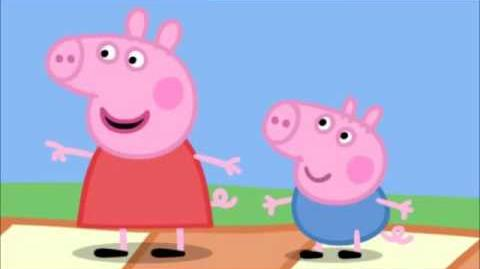 Daddy Pig's tummy is NOT big