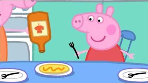 Peppa Pig Series 1 Episode 23 Pancakes-0