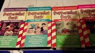 All Known Peppermint Park VHS Covers