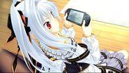 Sad anime girl with white hair 1-2802280e9d