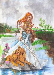 Atalanta by zaradei