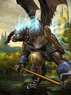 Viriddis Stormhorn War Avatar