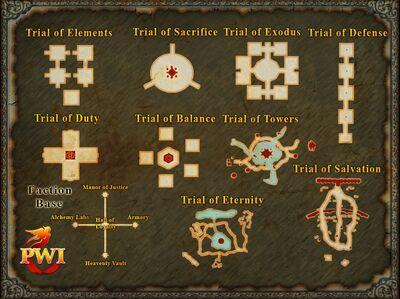 Faction Base Map