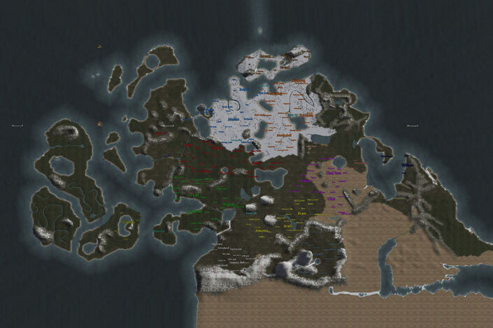 Perisno Map