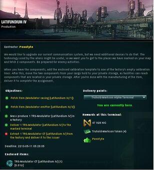 Latifundium IV Info