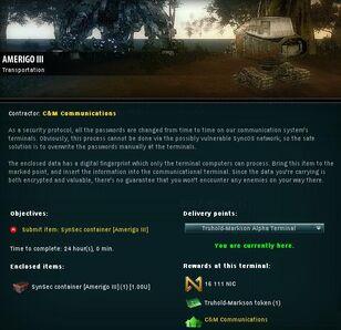 Amerigo III info
