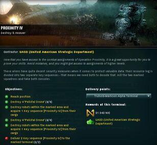 Proximity IV Info