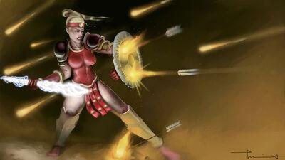 Diablo 2 amazon lightning fury by redevilknight-d481w7d