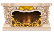Marble Rococo Fireplace