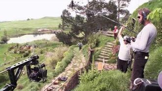 THE HOBBIT AN UNEXPECTED JOURNEY, Production Diary 9