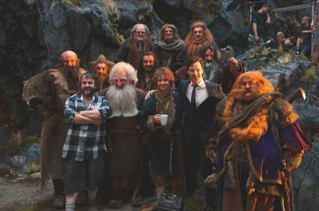 File:PJ, Ben, and Thorin and Company cast.jpg