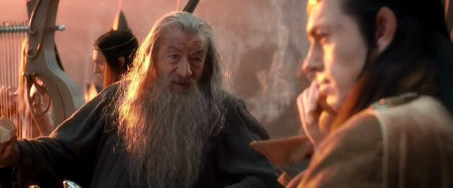 File:Gandalf talking with Elrond.jpg