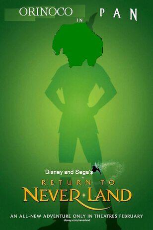 Orinoco Pan 2 Return to Neverland Poster
