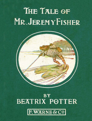 Beatrix Potter Jeremy Fisher Cover2