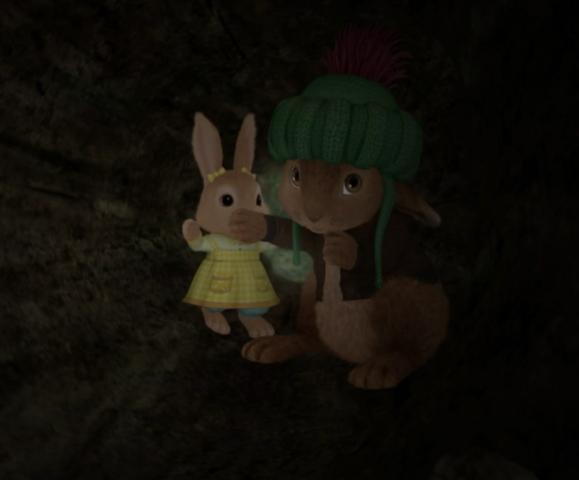 File:Benjaimin-Bunny-And-Cotton-Tail-Rabbit-Hidining-Image.png
