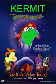 Kermit the Magnificent Poster