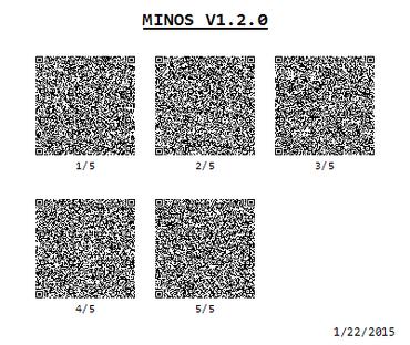 MINOS V1.2.0