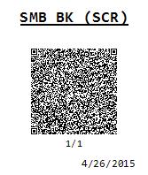 SMB BK (SCR)