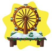 Toy shop ferris wheel