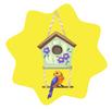 Country birdhouse decor