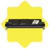 Contempory black sofa