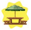 Wooden Garden Seats